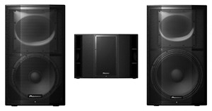 DJkit Introduces Three New Pioneer PA Active Speakers