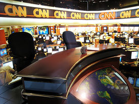 Possible CNN, CBS News partnership in the works?
