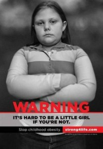Is GA's Controversial Childhood Obesity Campaign Pushing it?
