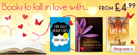 Fall in love with a great book from the Book People this Valentine's Day