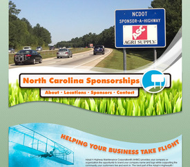 Launch of New North Carolina Sponsorship Website