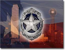 Dallas Cop Attacked by Magazine