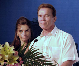 Schwarzenegger calls out wife on legal mistake