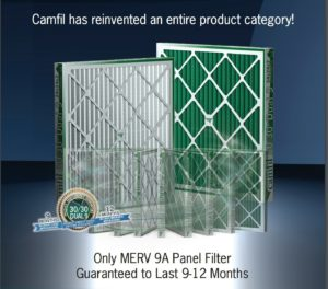 Camfil Introduces the 30/30 Dual 9 Air Filters