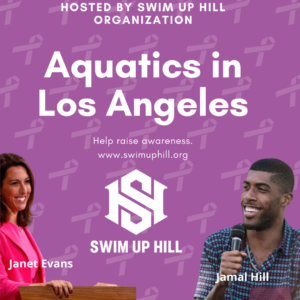 Jamal Hill and the Swim Up Hill Organization Champion Swim Education as Human Right through Air B&B