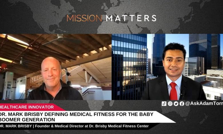 Photo of Dr. Mark Brisby Defining Medical Fitness for the Baby Boomer Generation – Press Release